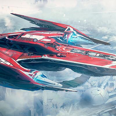 Spaceship Belvor.