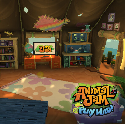 Animal Jam - Play Wild! - Cami's Wild Explorers Tent