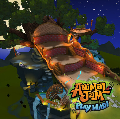 Animal Jam - Play Wild! - Raccoon Den