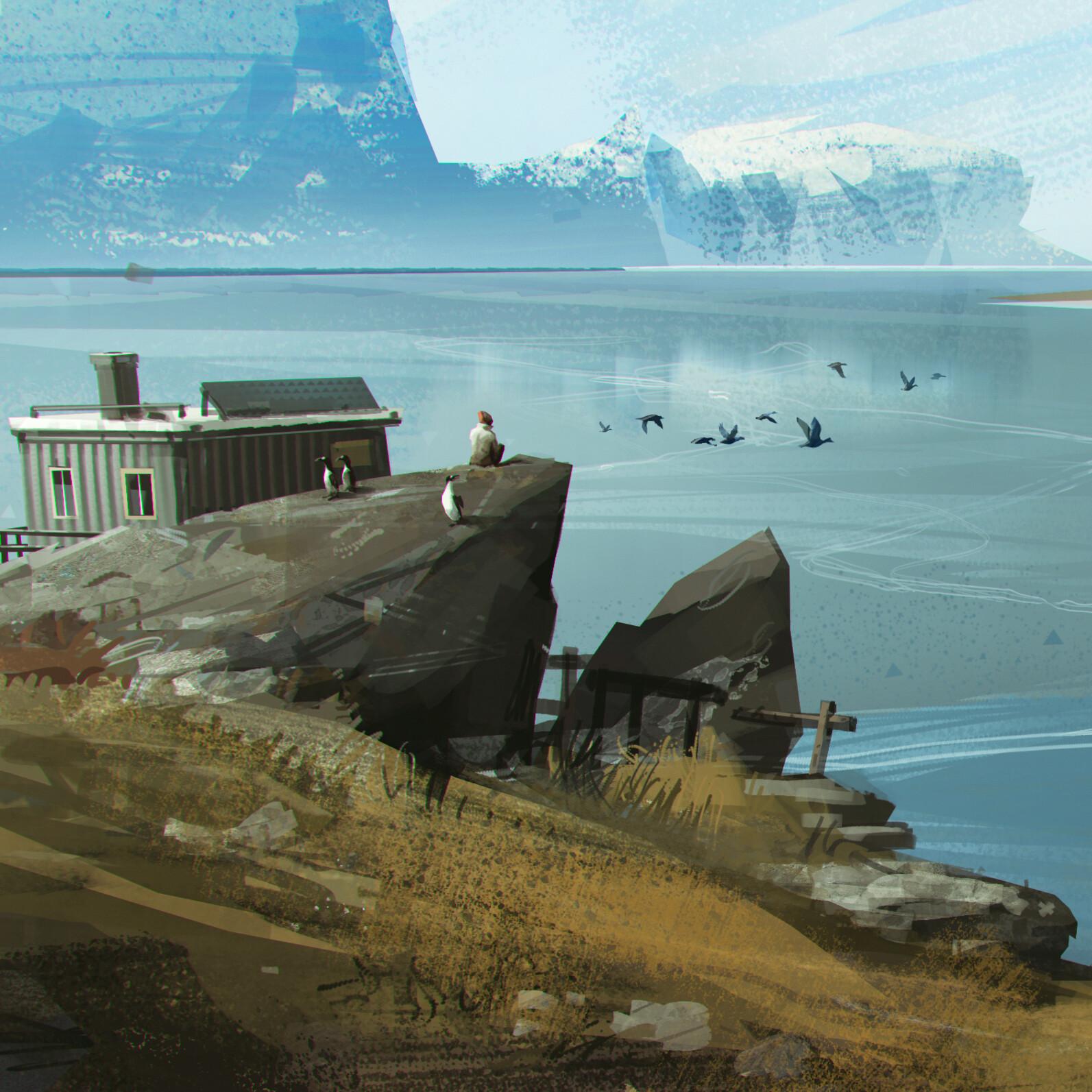 VPA Greenland village