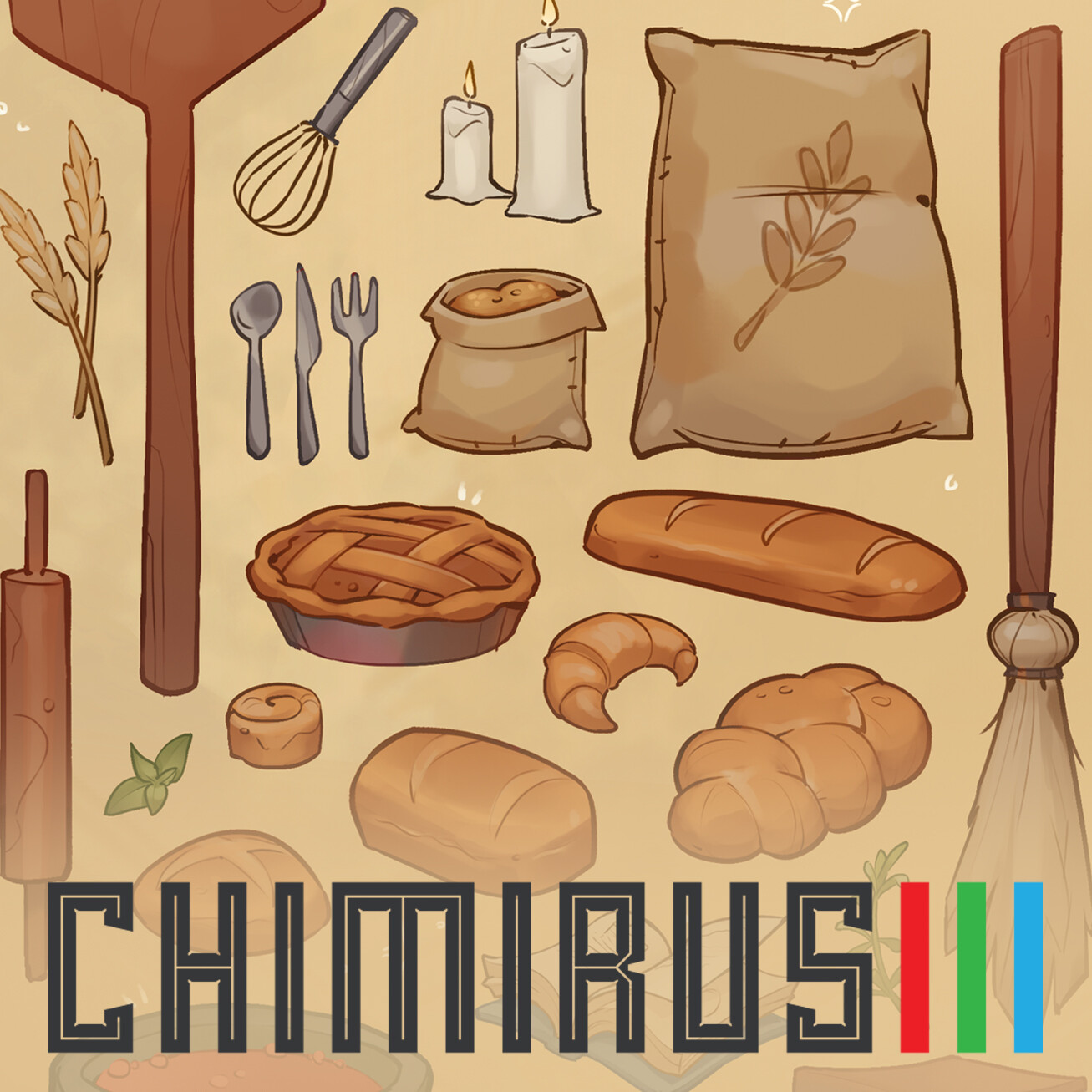 Chimirus Worldbuilding Demo: Madame Renee's Props