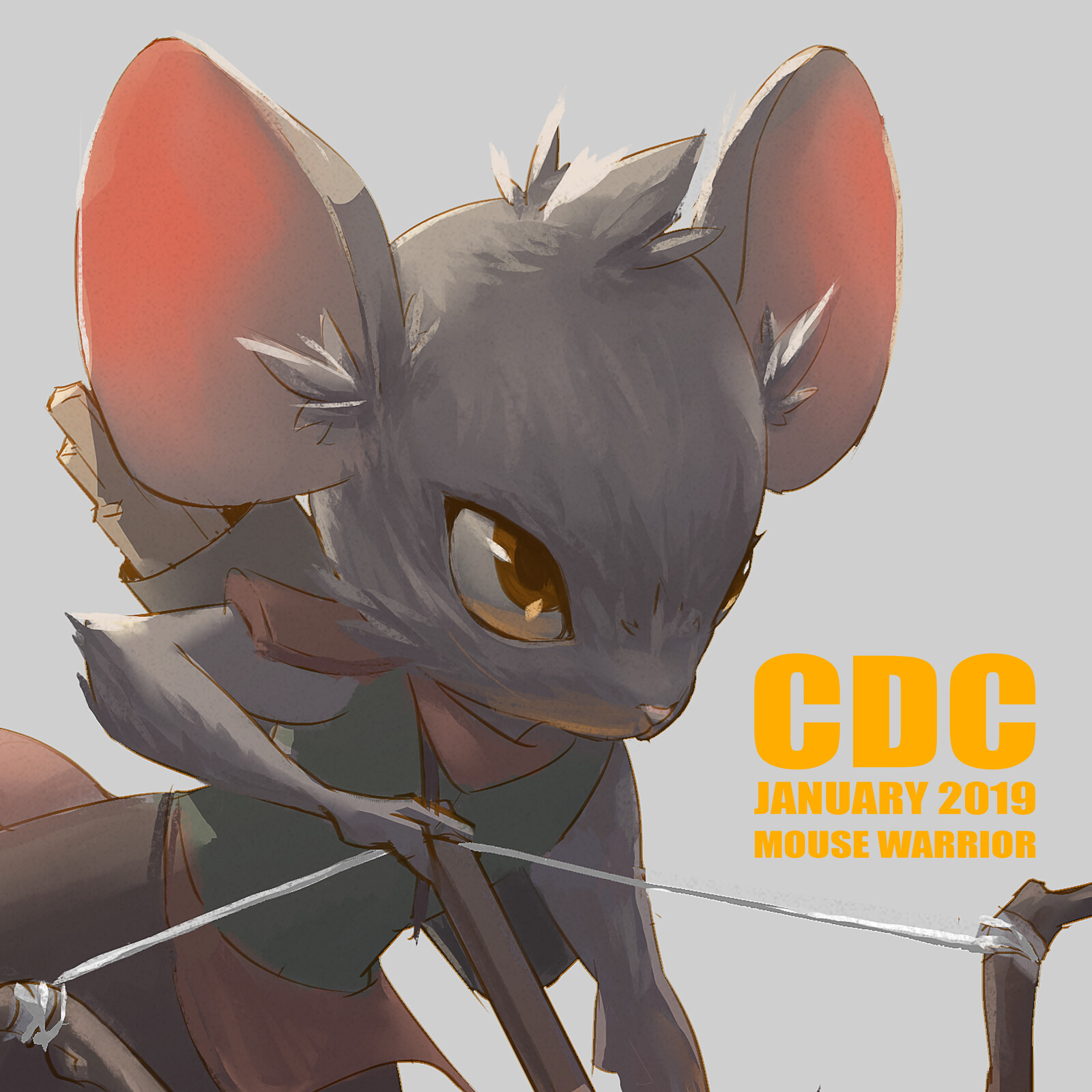 CDC-January 2019: Mouse Warrior