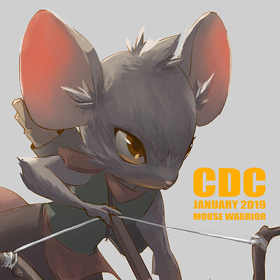 Michelle lo cdc mousewarrior x cover