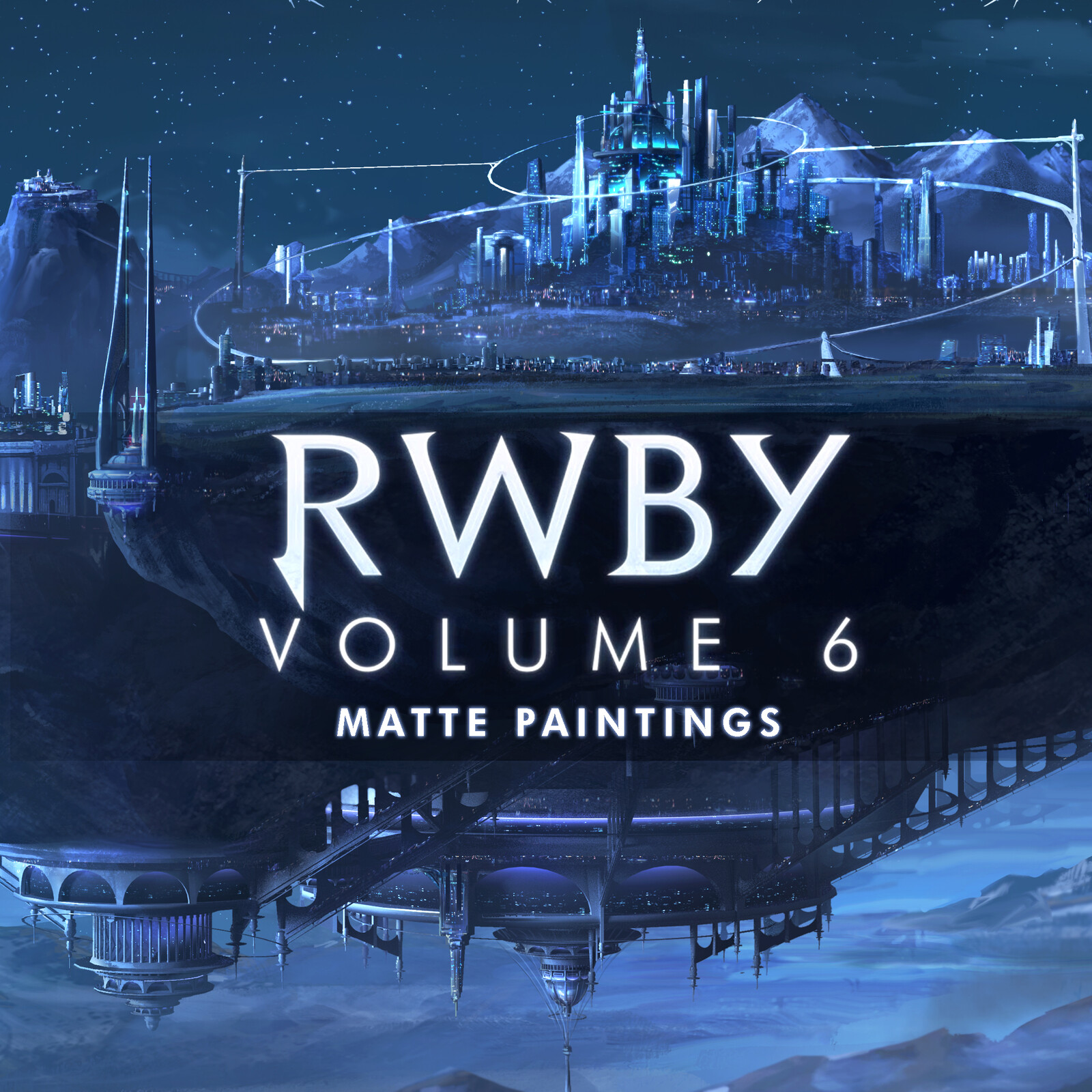 RWBY Volume 6 - Matte Paintings