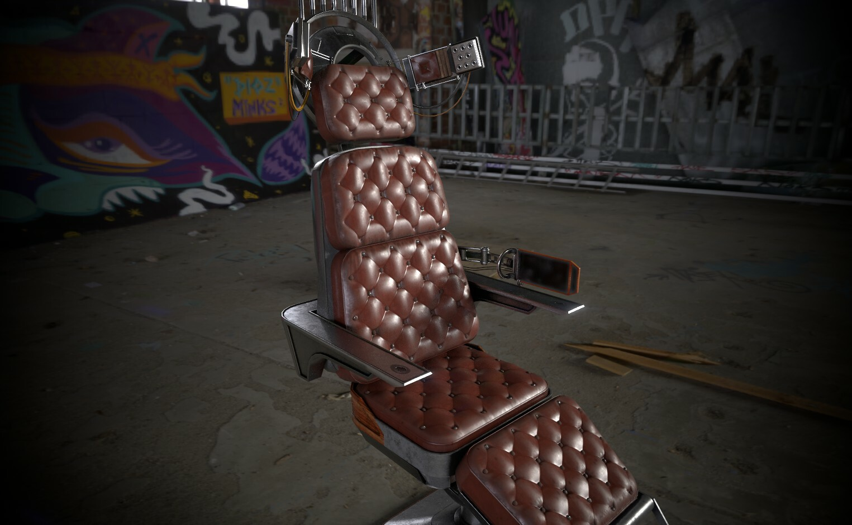 Debriefing Armchair - Fan Art