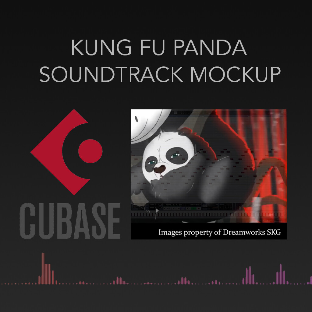 Kung Fu Panda - Soundtrack mockup in Cubase