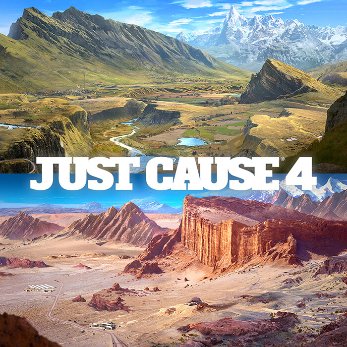 Just Cause 4: Biome concepts