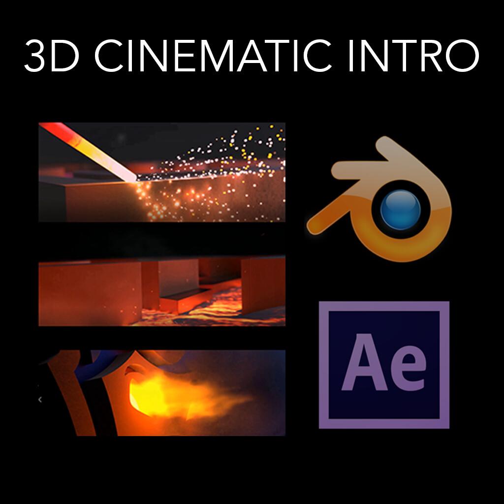3D Cinematic Intro