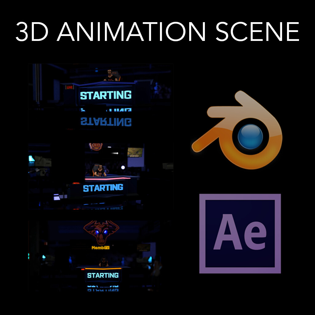 3D Animation Scene