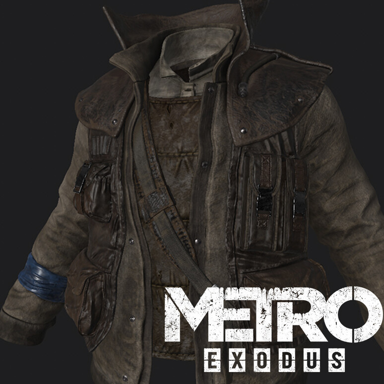 Metro Exodus Artyom's Nightmare - cloth textures