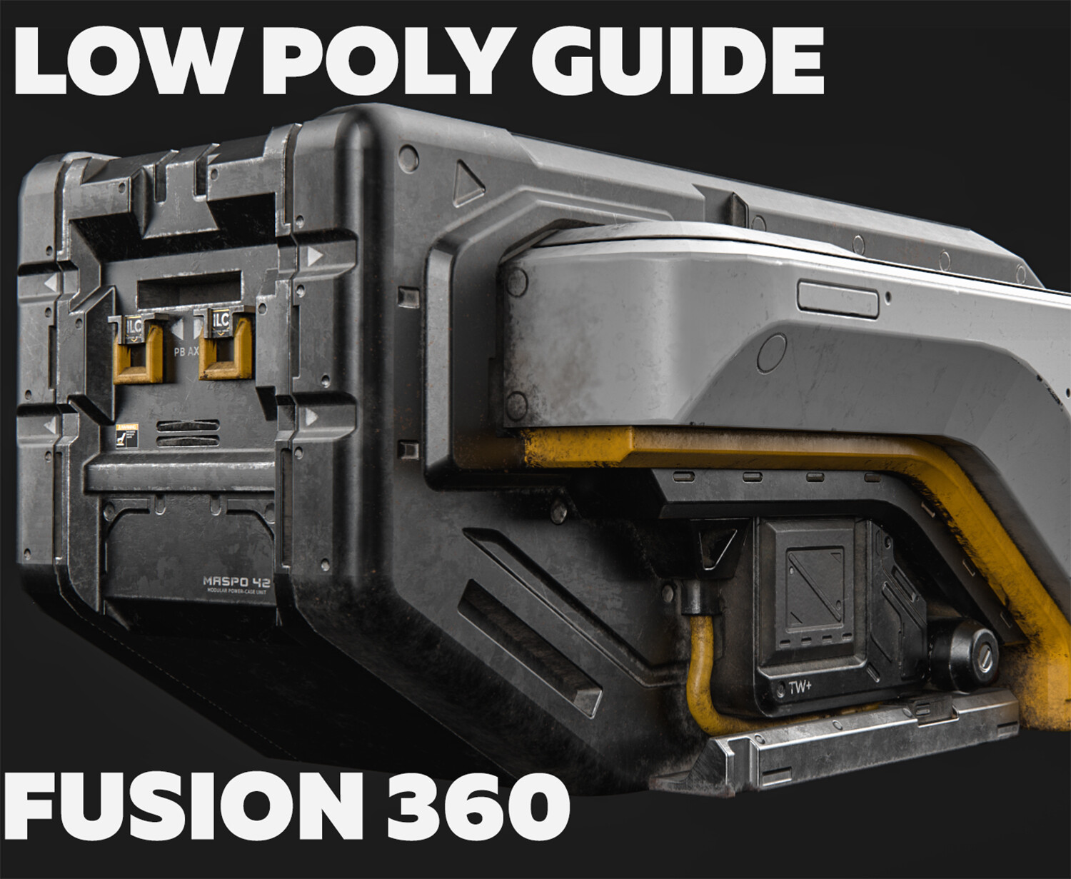 ArtStation - Game-ready Lowpoly asset from Fusion 360 Guide