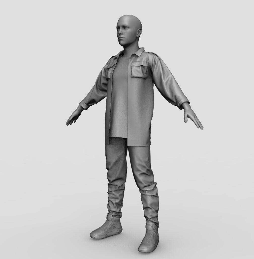 John Connor - Terminator 2 (WIP#2)