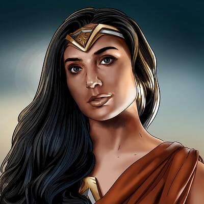 Vassilis dimitros justice league wonder woman 2