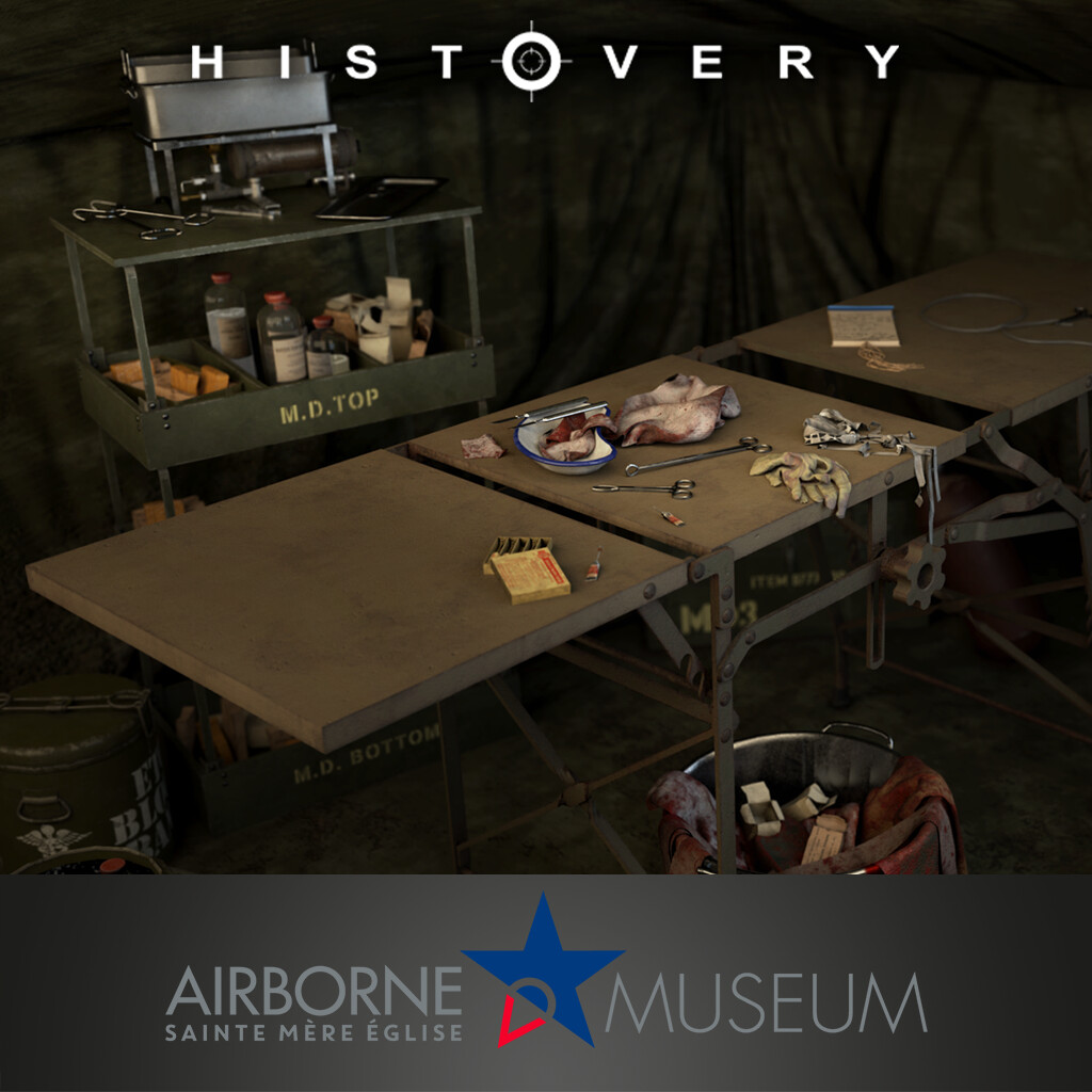 Airborne Museum- field hospital