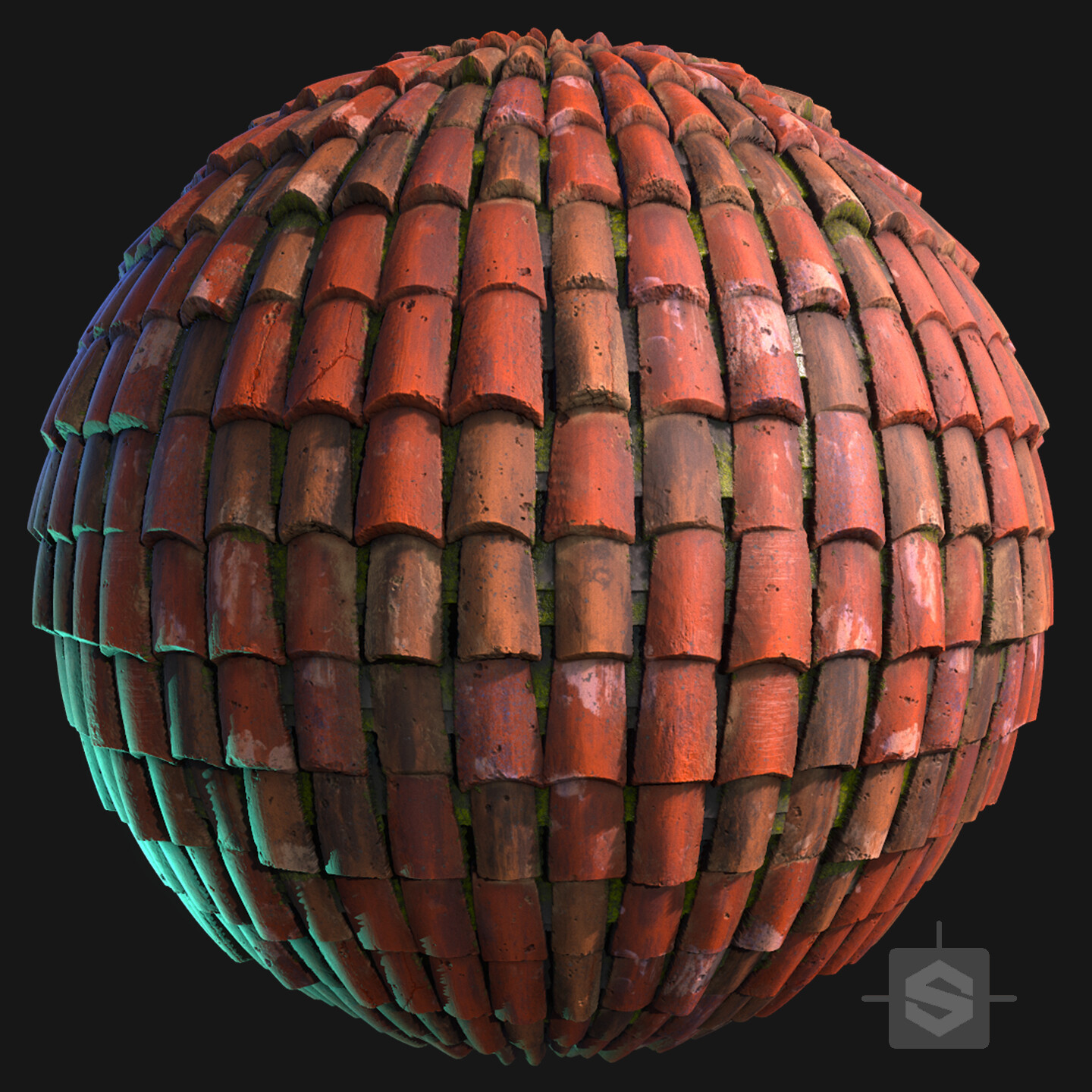 Substance Designer - Roof Tiles