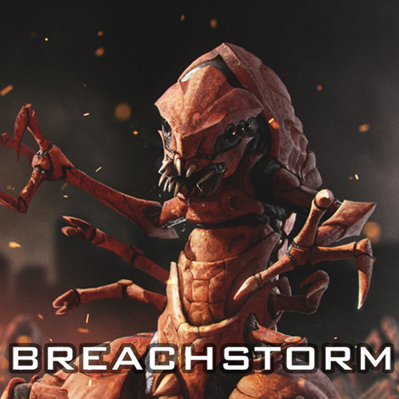 Breachstorm Volucrid Host Howler
