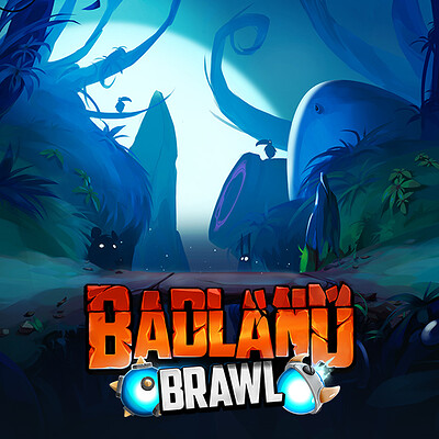 Badland Brawl - Backgrounds