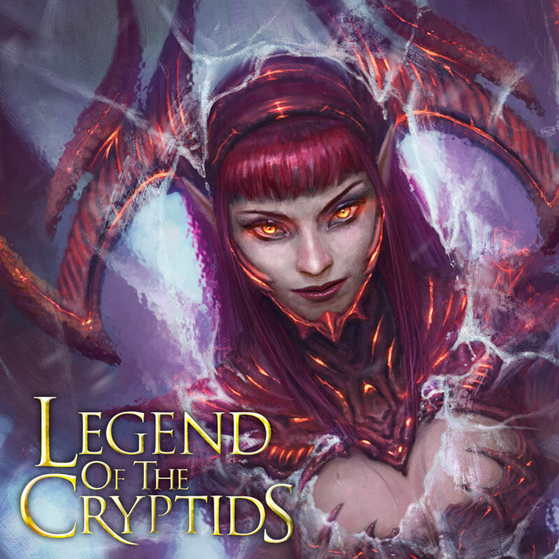 Legend of the Cryptids - Frozen Hellion Jagana - regular