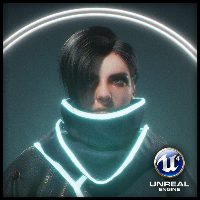 Real Time Sci Fi Character (UE4)