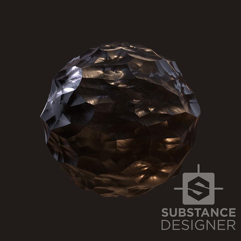 Stylized Obsidian