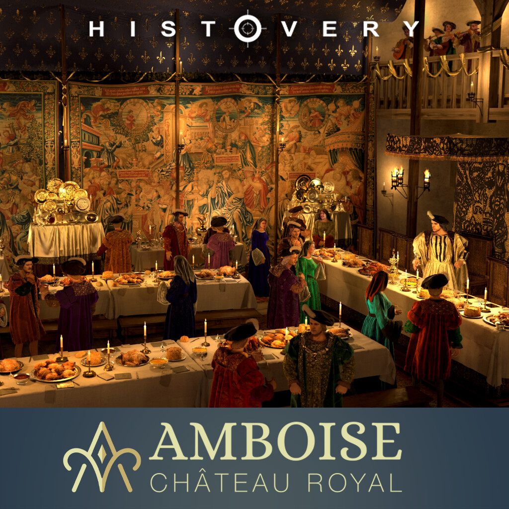 Chateau d'Amboise- Party of 1518