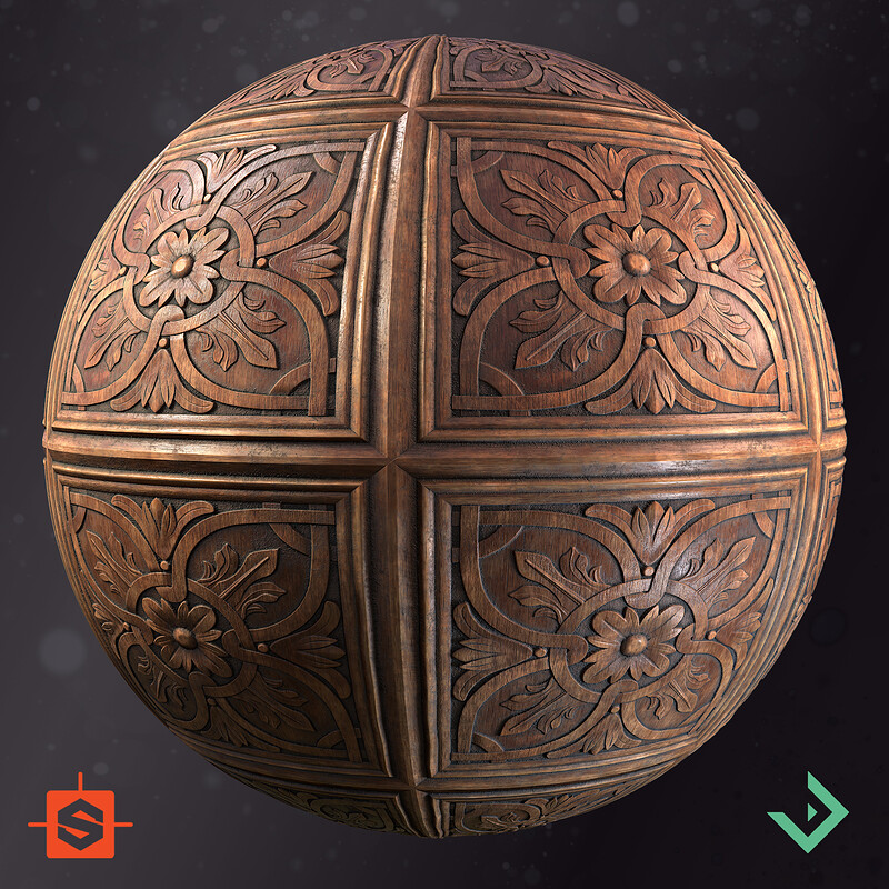 Wooden Ornament Panel - Rework