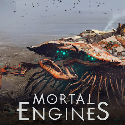 Weta workshop design studio thumbnail mortal engines scavenger towns