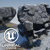 ArtStation - Free Displacement Blend Materials for Unreal 4, Lincoln