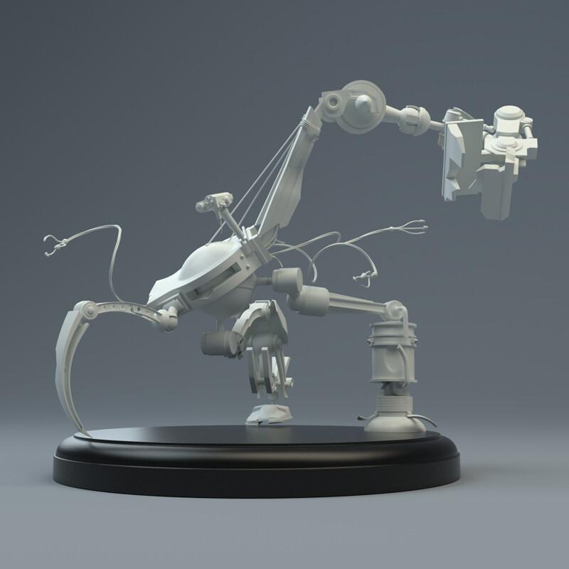 Galactic Frontier - Trojan Robot