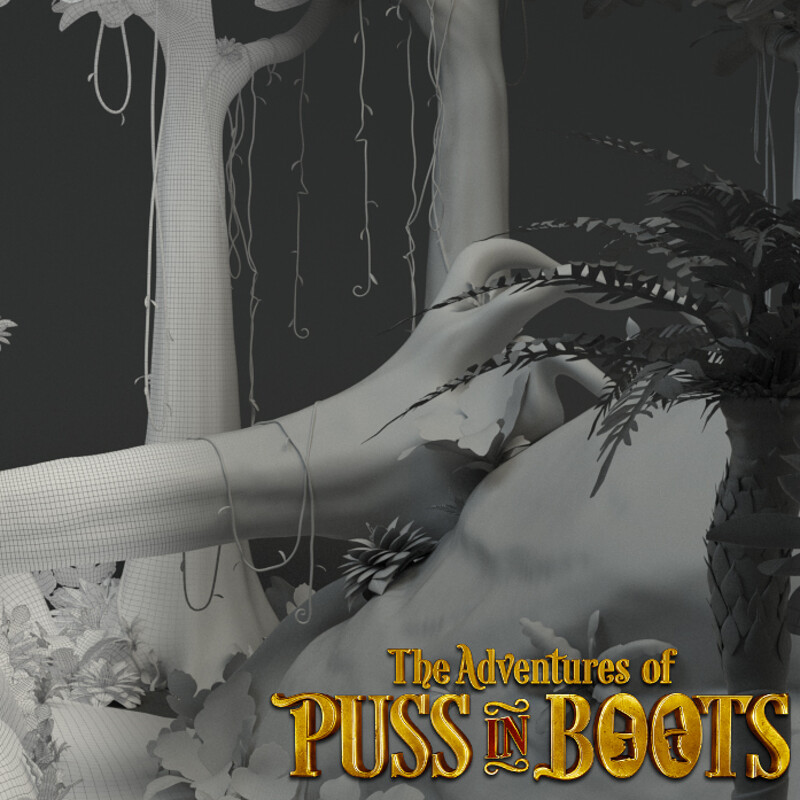 The Adventures of Puss in Boots - Jungle Environment