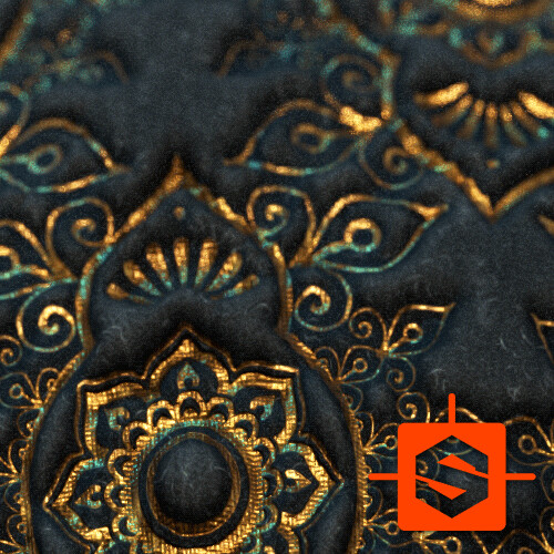 Indian Velvet - Substance Designer