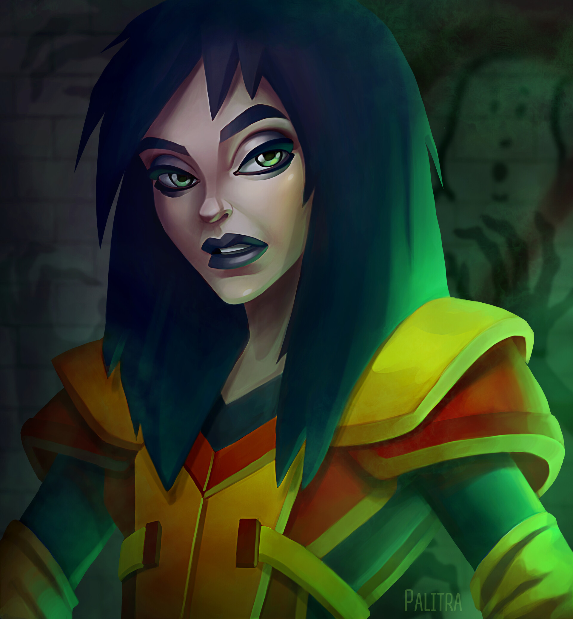 ArtStation - Kylie Griffin /Extreme Ghostbusters ...