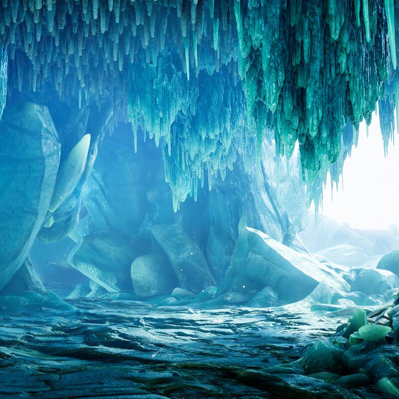 Ice Cave (UE4)