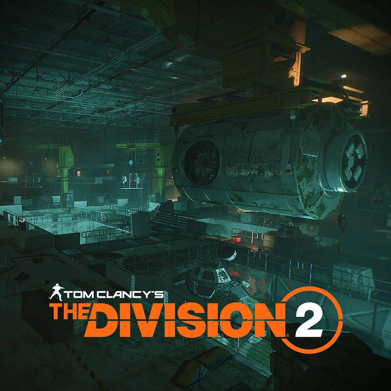 Buoyancy lab - Space Administration HQ - Tom Clancy's The Division2