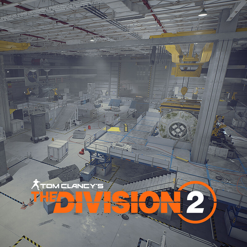 R&D - Space Administration HQ - Tom Clancy's The Division2