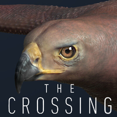 The Crossing - Red Tail Eagle