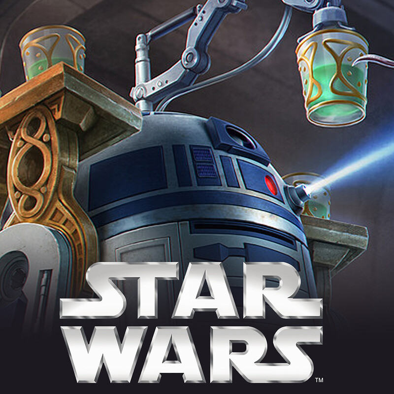 Star Wars: Imperial Assault - R2-D2 Alt Art