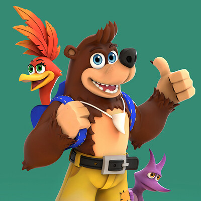 Banjo-Kazooie Remastered Fan Art