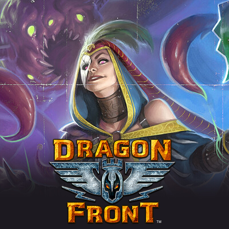 Dragon Front - Dual Champion Marketing Illustration