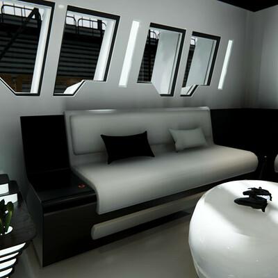 Ix 3d living room