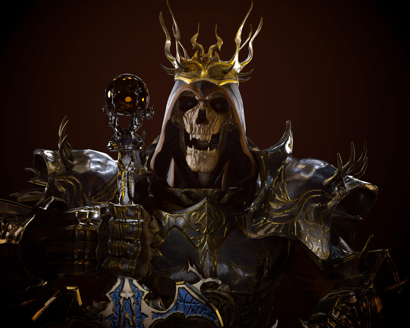 Skeleton King HD Remaster - Fan art