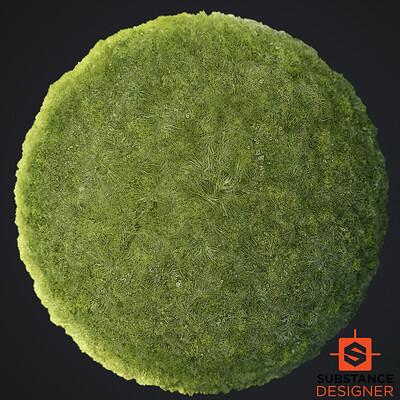 Fluffy Moss Material