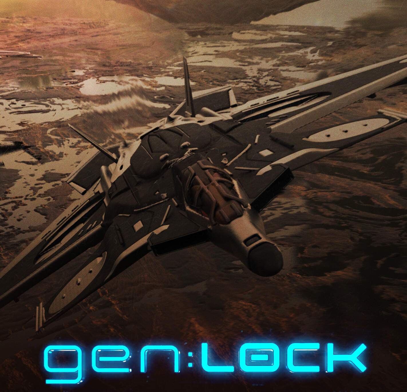 gen:LOCK Vanguard Fight Jet