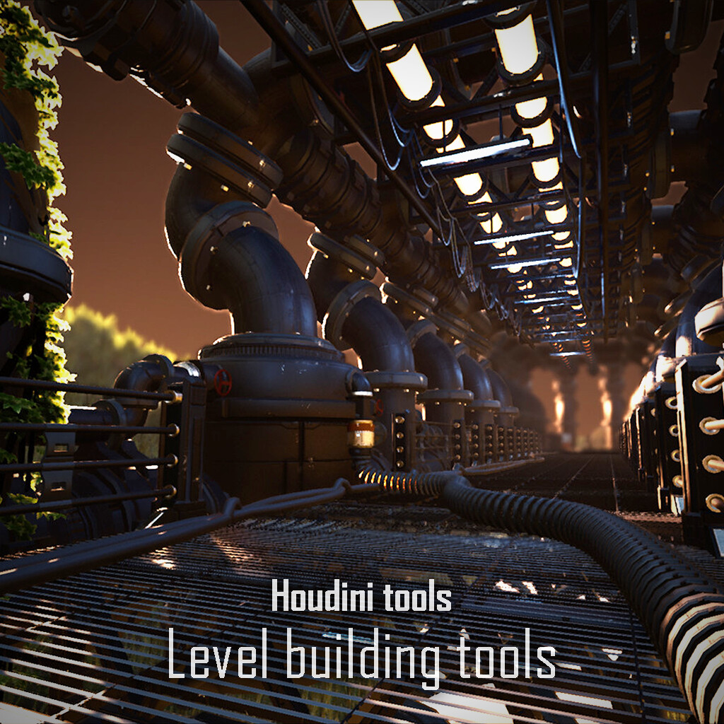 Houdini with Unreal Engine