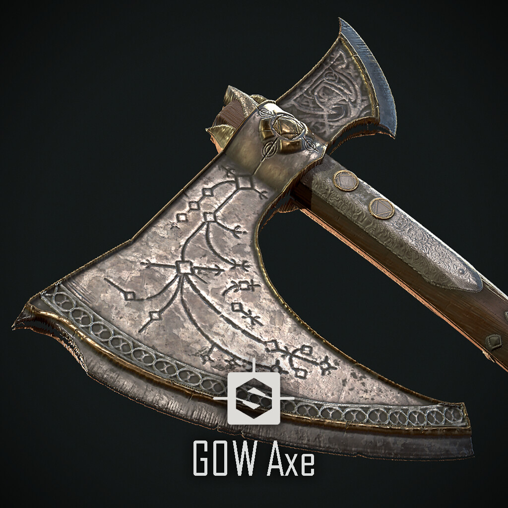 God of war Axe (Fan art)