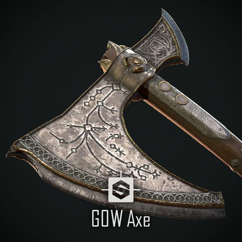 God of war Axe (Fan art)