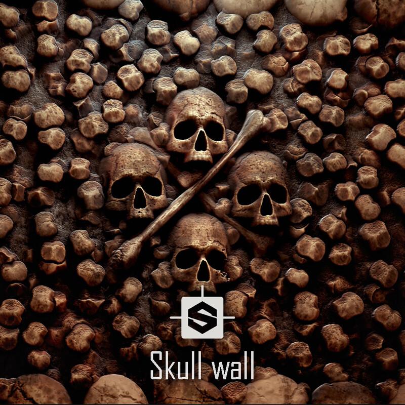 Catacomb bone wall