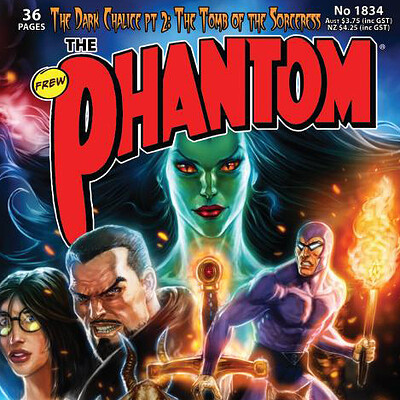 Cover Art for issue #1834 of The Phantom, Frew Publications