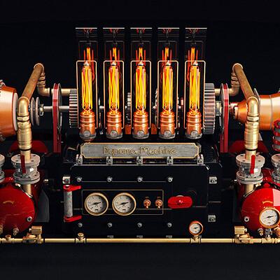 Maks trofimov maks trofimov steampunk dynamo machine 4