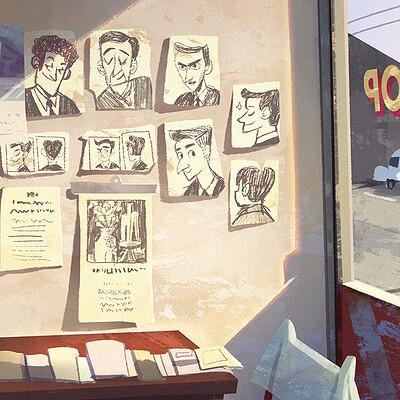 Rachel ho barbershop a6 artstation